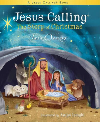 Jesus Calling: the Story of Christmas (picture Book) by Sarah Young Hardcover Bo