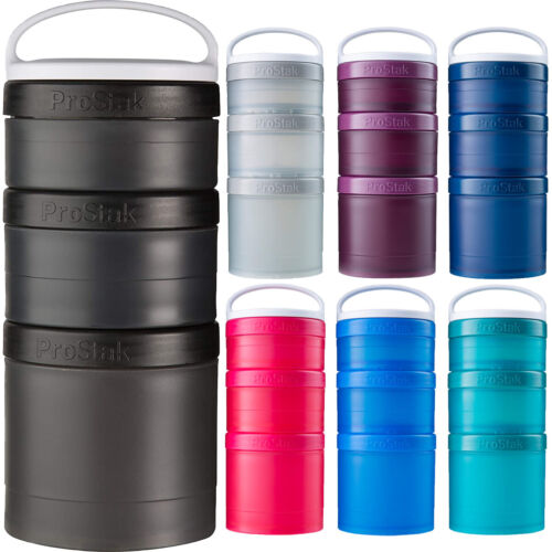 Blender Bottle ProStak Expansion Pak with Handle <br/> #1 Seller of Blender Bottle - Over 450,000 Feedbacks