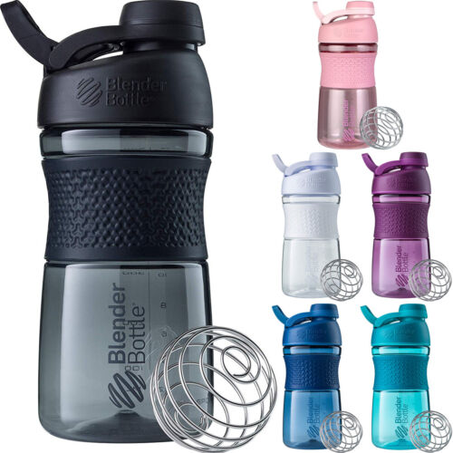 Blender Bottle SportMixer Twist Cap 20 oz. Tritan Grip Shaker <br/> #1 Seller of Blender Bottle - Over 450,000 Feedbacks