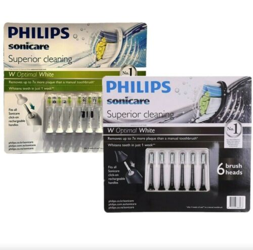 6 Pack Philips Sonicare Diamond Clean Replacement Electric Toothbrush Heads 2020
