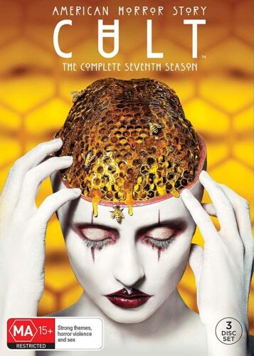 AMERICAN HORROR STORY 7 (2017) AHS CULT - TV Series Season - NEW Au Rg4 DVD