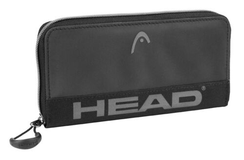 HEAD Borsa Start Zip Around Wallet Black
