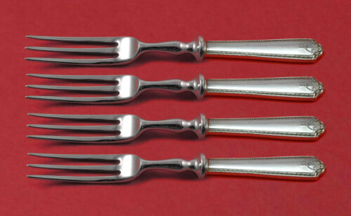 """Lady Hilton by Westmorland Sterling Silver Fruit Fork Set 4pc HH WS Custom 6"""""""