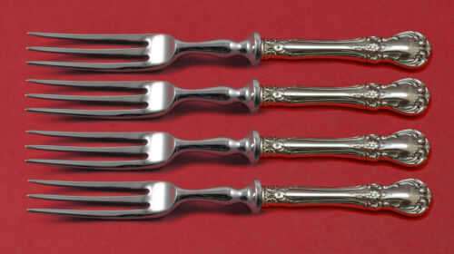 """Old Master by Towle Sterling Silver Fruit Fork Set 4-piece HH WS Custom Made 6"""""""