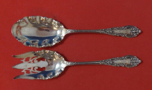 Apollo by Knowles & Mount Vernon Sterling Silver Salad Serving Set 2pc AS 9""