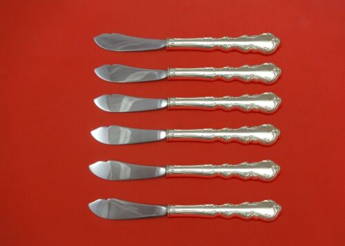 """Angelique by International Sterling Silver Trout Knife Set 6pc 7 1/2""""  Custom"""