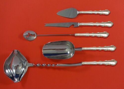 Angelique by International Sterling Silver Cocktail Party Bar Set 5pc Custom