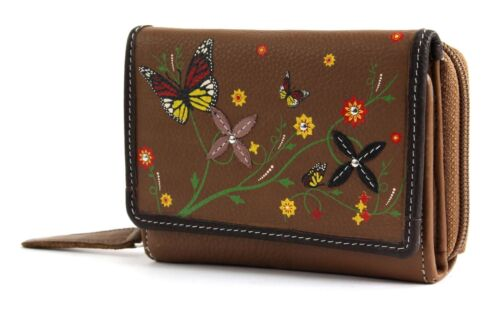 bruno banani Butterfly Wallet With Flap Cognac