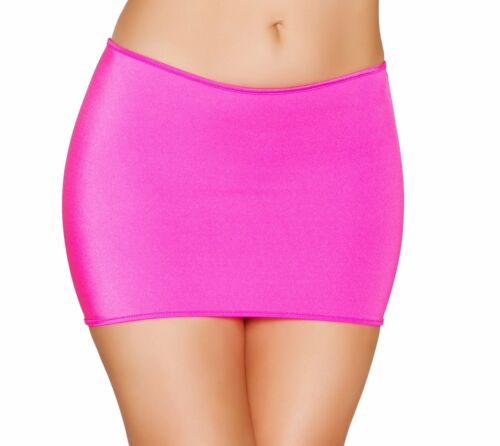 Bodycon Lycra Mini Skirt - Roma Costume SK105