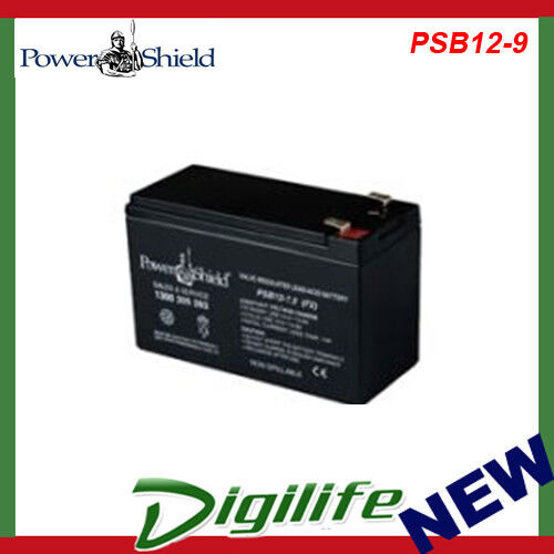 Powershield Replacement 12V, 9Ah Sealed Lead Acid Battery PSB12-9