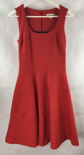 Banana Republic Size 4 (AUD 8) Bright Scarlett Red Dress Christmas Party B50