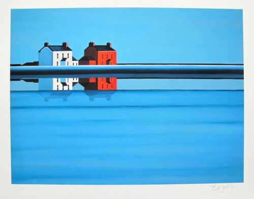 """BARBARA JAMES """"UPON REFLECTIONS"""" Hand Signed Limited Edition Giclee"""
