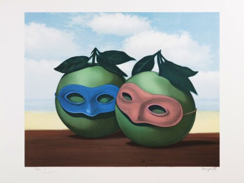 Rene Magritte - The Hesitation Waltz (signed & numbered lithograph)