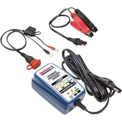 Tecmate Optimate TM-409 1 DOU Maintain Charger 12V Lead Acid or Lithium Battery