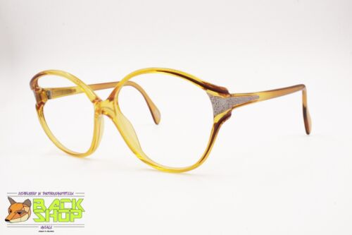 ZEISS West Germany vintage frame glasses/sunglasses, Yellow acetate oversize NOS