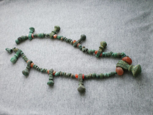 Extremely Rare Ancient Authentic Bronze Beads Bronze Age 12 - 8 century BC