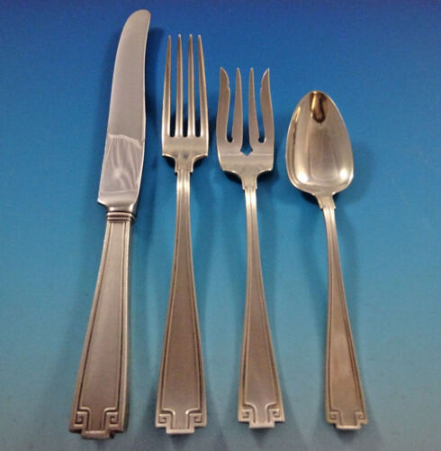 Etruscan by Gorham Sterling Silver Flatware Set For 12 Service 48 Pieces