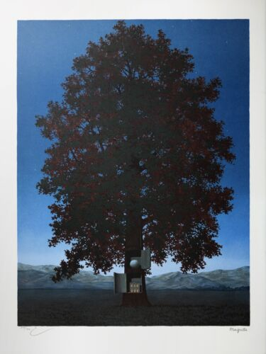 Rene Magritte - The Voice of Blood (signed & numbered lithograph)
