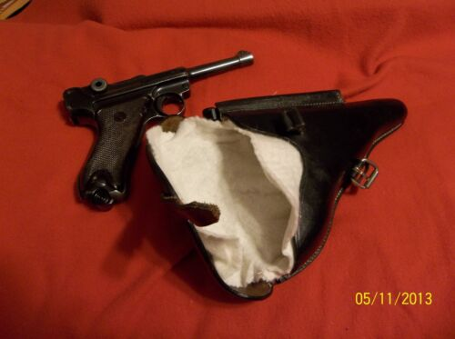 WWI WWII German Luger P08 Parabellum 9mm Gun Sock Holster Liner Protective SleevPersonal, Field Gear - 36049