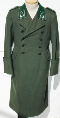 German WWII  ORIGINAL Forestry officers NAMED Greatcoat   NICE!!!!!!!!!!!!!!!!!!Uniforms - 104001
