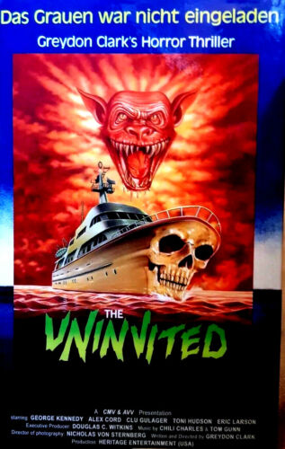 The Uninvited 1987 (DVD} RARE IMPORT LIMITED EDITION HARDBOX R2 ENG LANG