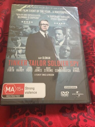 TINKER TAILOR SOLDIER SPY - COLIN FIRTH - DVD NEW & SEALED - REGION 4