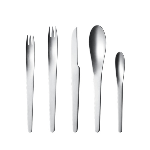 Arne Jacobsen by Georg Jensen Stainless Steel Flatware Set For 4 Service New