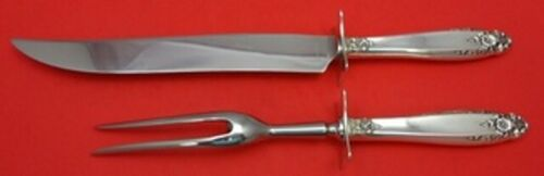 Prelude by International Sterling Silver Roast Carving Set 2-piece HH WS