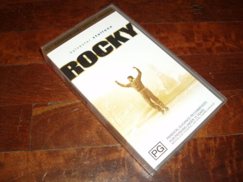 VHS VIDEO TAPE ~ Rocky Sylvester Stallone 25th Anniversary Special Edition