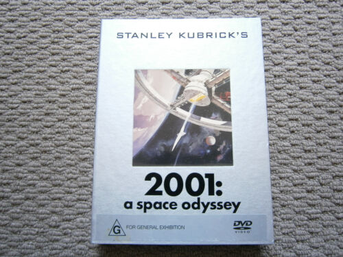 STANLEY KUBRICKS 2001: A SPACE ODYSSEY LIMITED COLLECTORS DVD NO 063818.