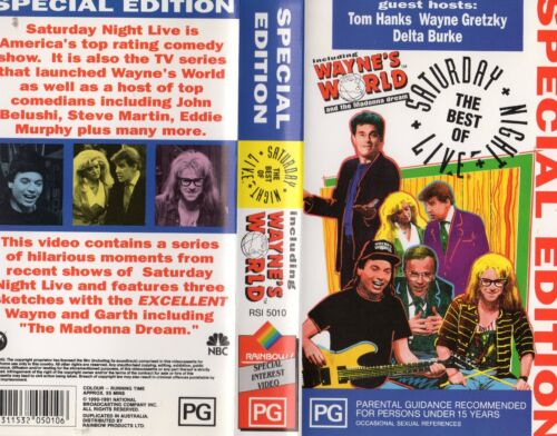 SATURDAY NIGHT LIVE - BEST OF- VHS -PAL -NEW -Never played! -Original Oz release