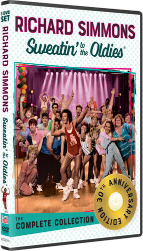Richard Simmons Sweatin' to the Oldies: The Complete Collection (6 Disc) DVD NEW