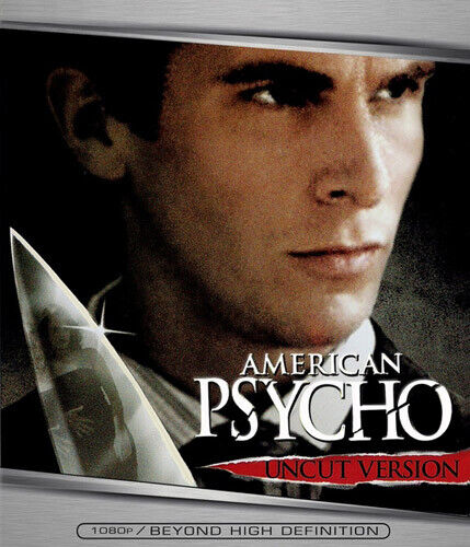 American Psycho (2000 Christian Bale) (Uncut Version) BLU-RAY NEW