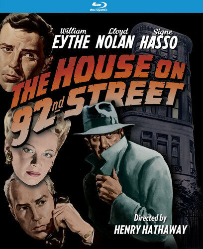 The House on 92nd Street BLU-RAY NEW