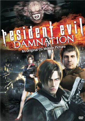 Resident Evil: Damnation DVD NEW