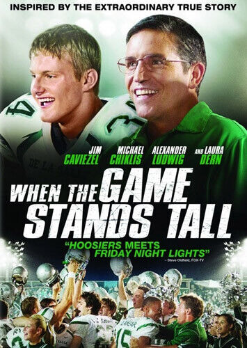 When the Game Stands Tall DVD NEW
