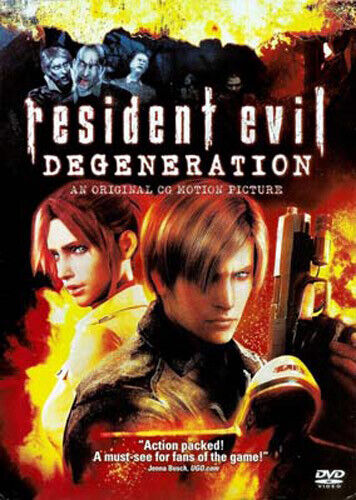 Resident Evil: Degeneration DVD NEW