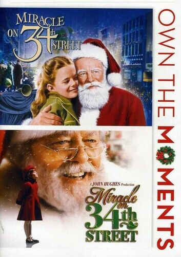 Miracle on 34th Street (1947) / (1994) (2 Disc) DVD NEW