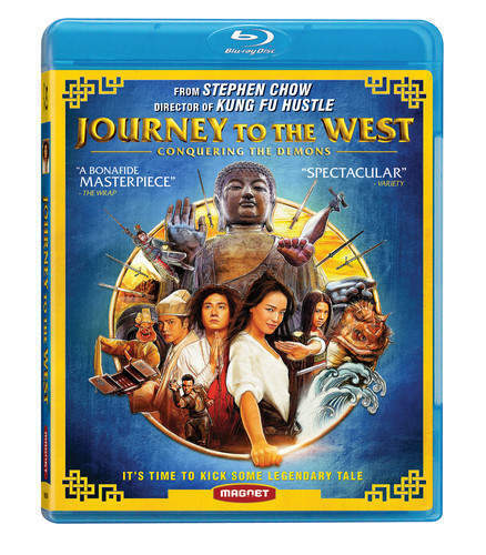 Journey to the West: Conquering the Demons BLU-RAY NEW
