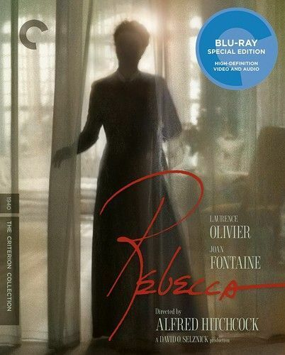 Rebecca (1940 Joan Fontaine) (The Criterion Collection, 2 Disc, 4K) BLU-RAY NEW