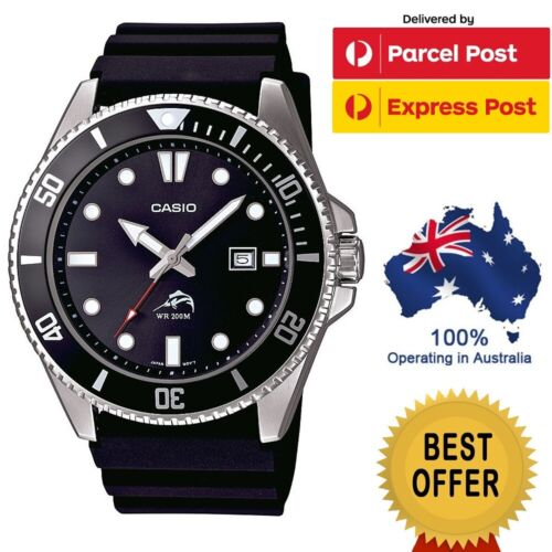 CASIO MENS DIVERS MDV106-1AV MDV106-1AVCF 200M MARINE DOLPHIN WATCH SPORTS DURO <br/> ✅ONLY $116 CODE POTTER3 ✅FREE EXPRESS SAME DAY POST