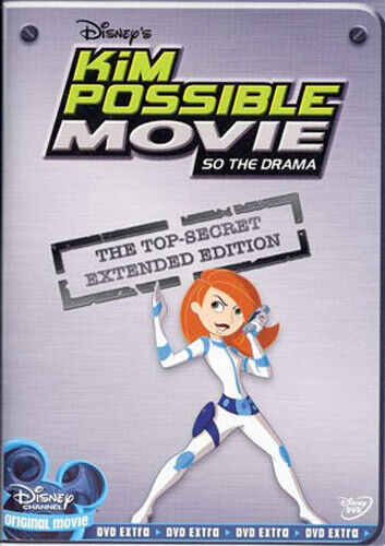 Kim Possible Movie: So the Drama (Extended Edition) DVD NEW