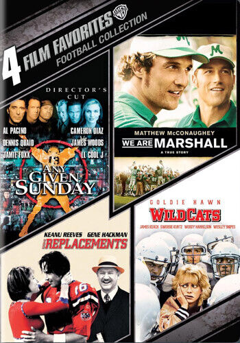 Any Given Sunday / We Are Marshall / Replacements 2000 / Wildcats 1986 DVD NEW