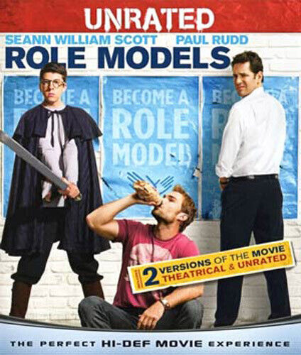 Role Models (Unrated Version) BLU-RAY NEW