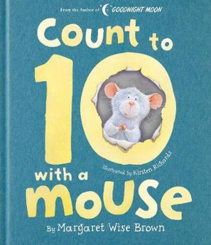 Count to 10 With a Mouse by Margaret Wise Brown (English) Hardcover Book Free Sh
