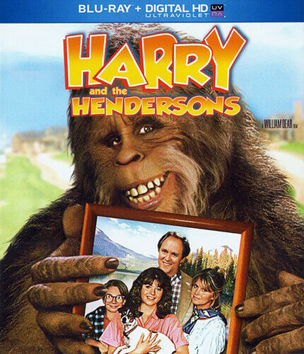 Harry and the Hendersons BLU-RAY NEW