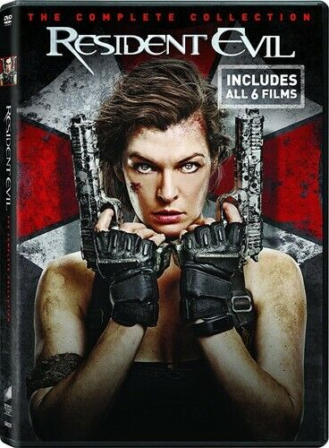 Resident Evil: The Complete 6 Film Collection (4 Disc) DVD NEW