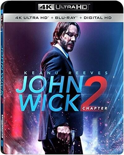 John Wick: Chapter 2 (2 Disc, With Blu-ray) 4K ULTRA HD BLU-RAY NEW