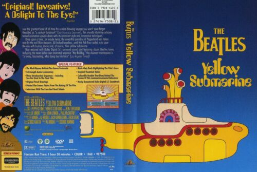 YELLOW SUBMARINE - The Beatles - DVD - NEW & SEALED - Never played!! All region