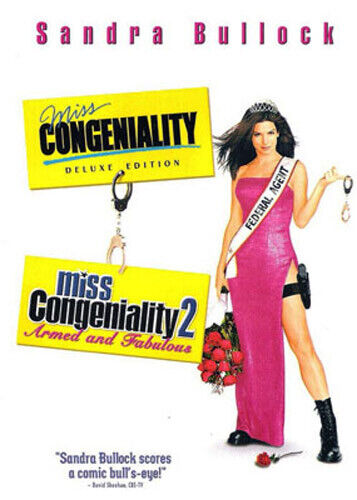Miss Congeniality 1 / 2: Armed and Fabulous DVD NEW